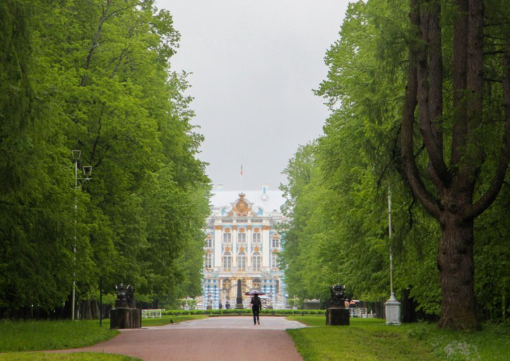 Catherine Palace viewed from Alexander Park