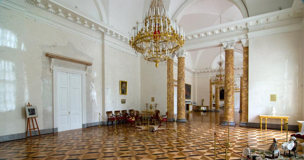 Marble Drawing Room