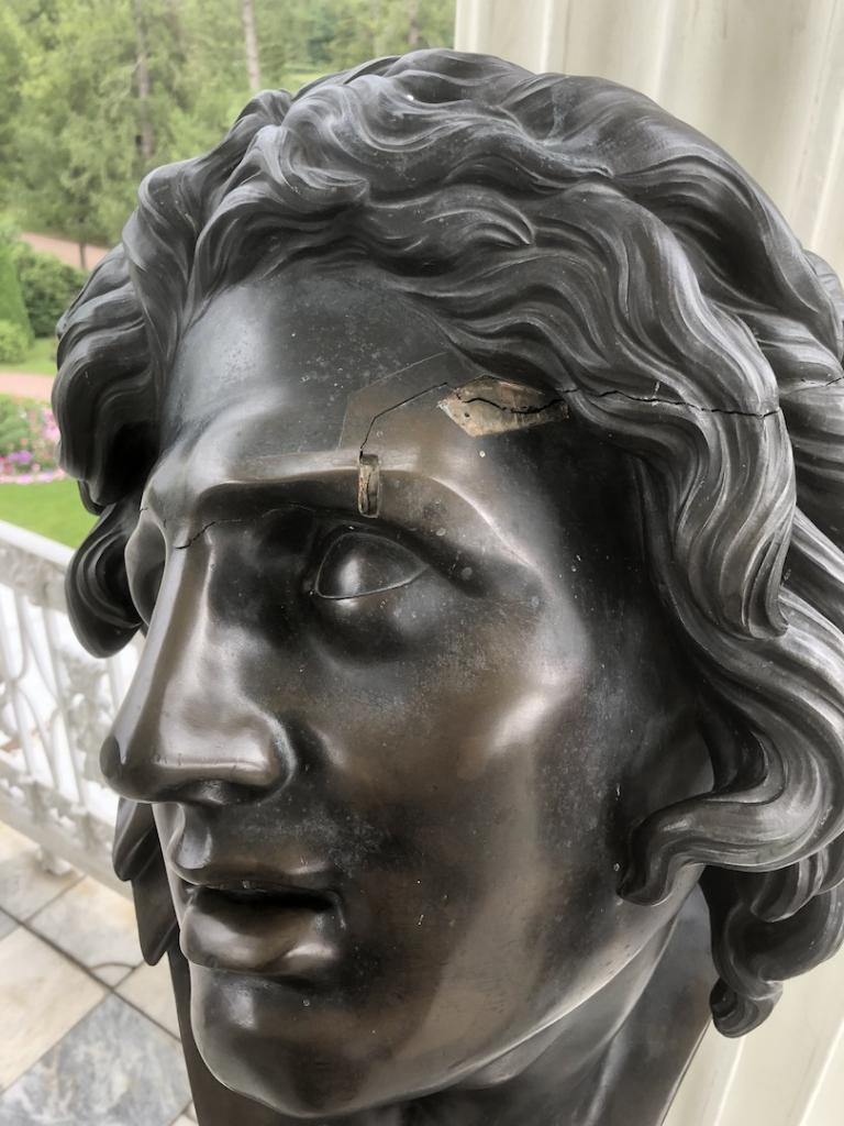 Damaged Bust of the Giant